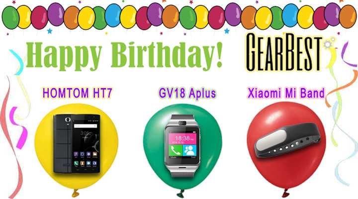 Конкурс посвященный дню рождения магазина GearBest