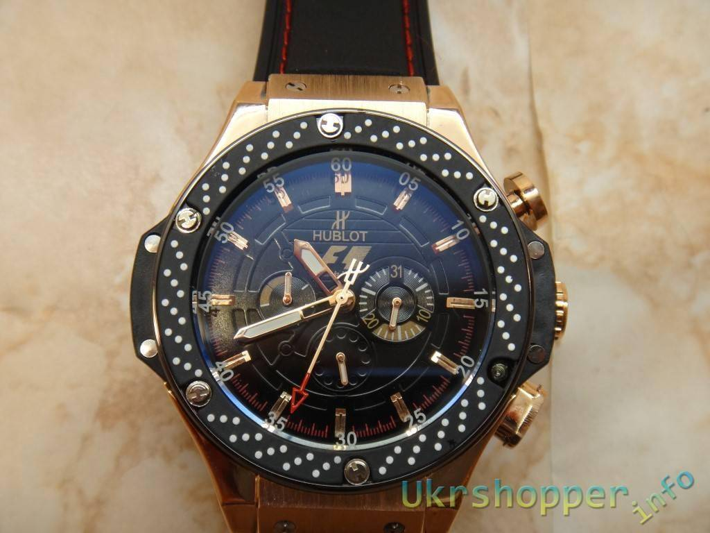 Popkind: Реплика Limited Edition Hublot F1 King Power Gold часы болельшика F1