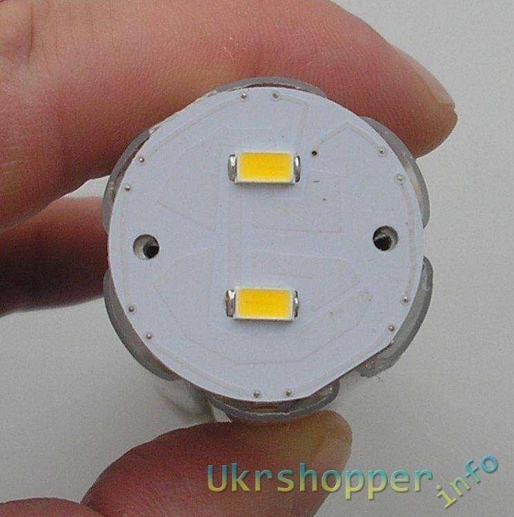 EachBuyer: Лампочка на 15W E27 44 SMD5630 LED Corn (БЕЗ ПУЛЬСАЦИЙ)