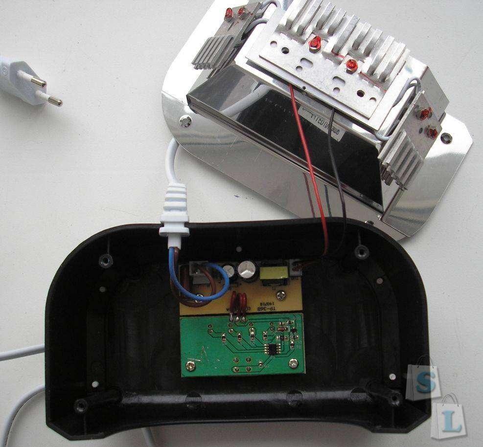 TomTop: 12W UV LED светильник для сушки (полимеризации) лака на ногтях. Хороший подарок для девушки.