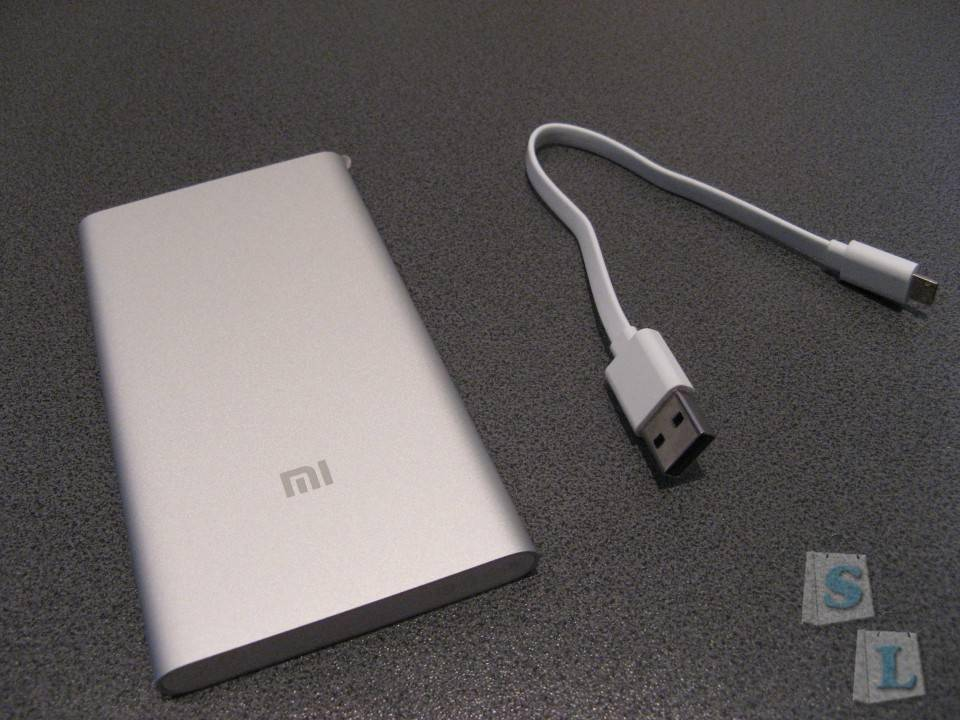 TinyDeal: Genuine Xiaomi Ultrathin 5000mAh Li-Polymer Power Bank External Charger Pack for Cellphone
