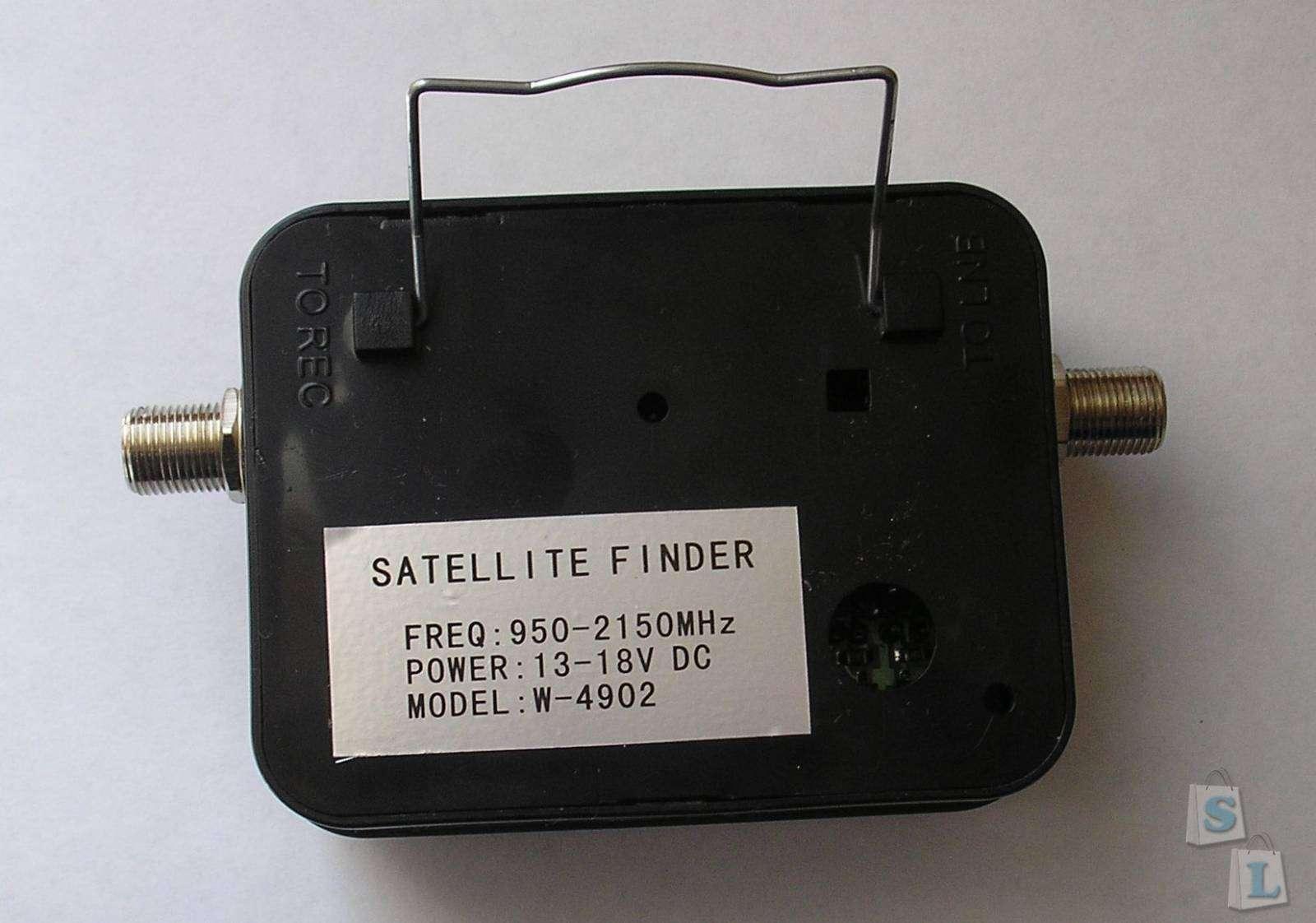 TomTop: Satellite Finder W4902. Заключение НЕспециалиста.