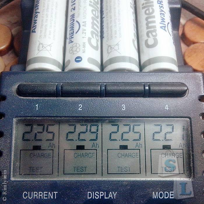 Minithebox: Аккумуляторы Camelion AlwaysReady 2100mAh Ni-MH AA
