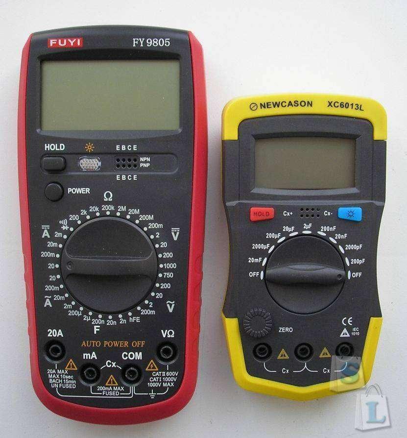 TVC-Mall: Digital Multimeter XC6013L. Измеритель ёмкости