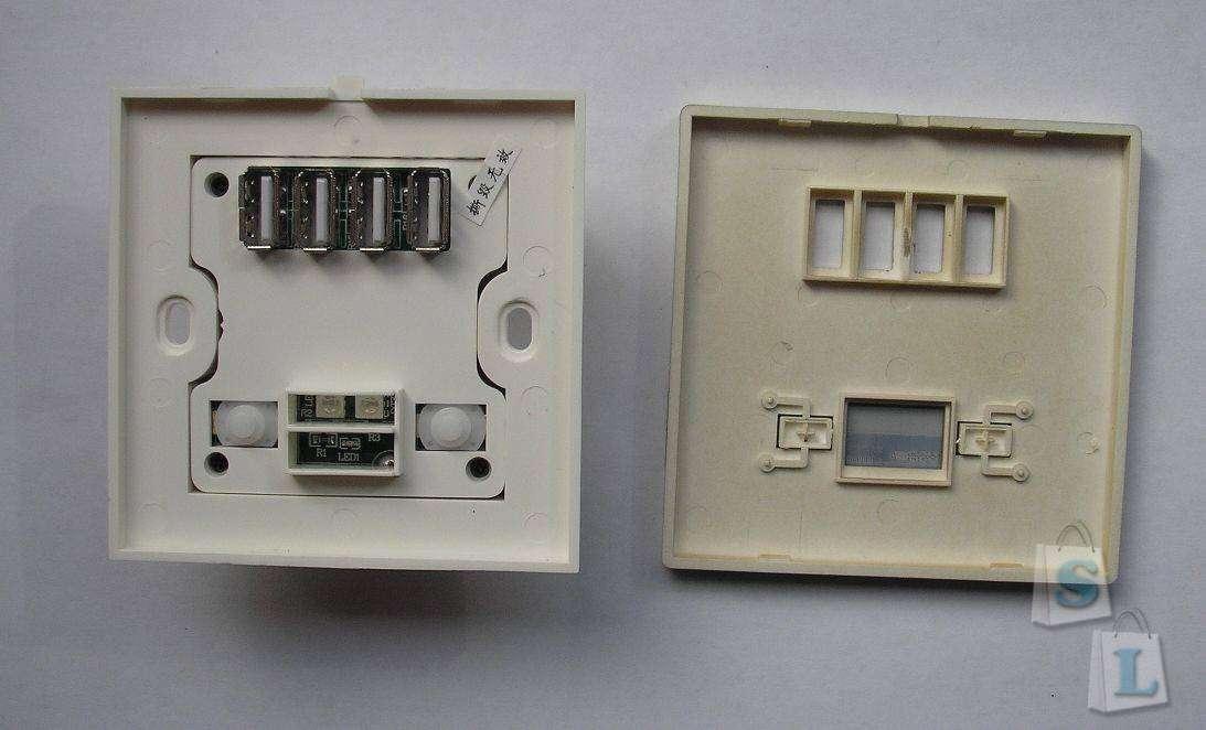 TVC-Mall: USB панель на 4 порта