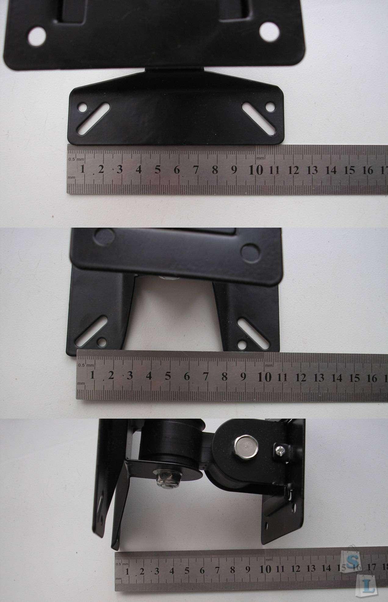 Banggood: Поворотный  настенный кронштейн для ЖК-телевизора (или монитора)