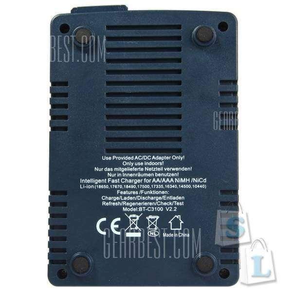 GearBest: Вышла версия V2.2 зарядного устройства OPUS BT-C3100