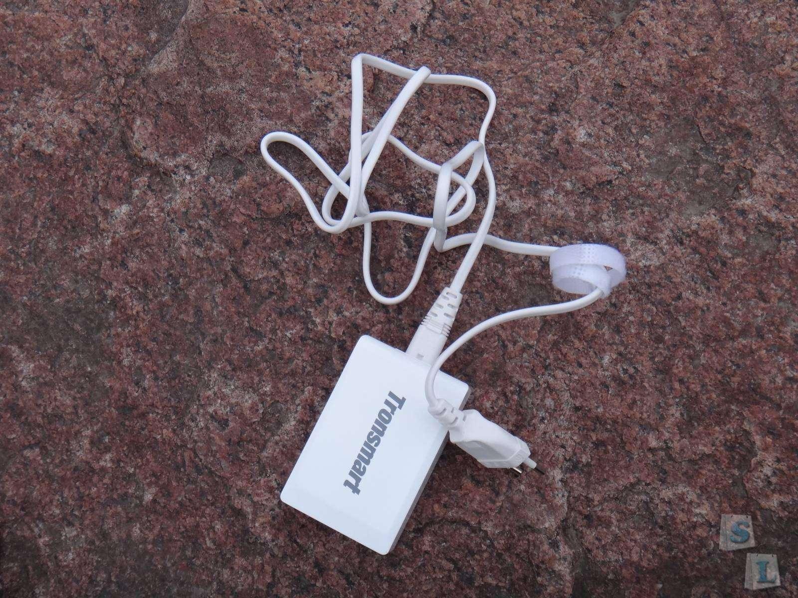 Зарядное устройство Tronsmart 40W - 5 USB портов и 9А в общей сумме