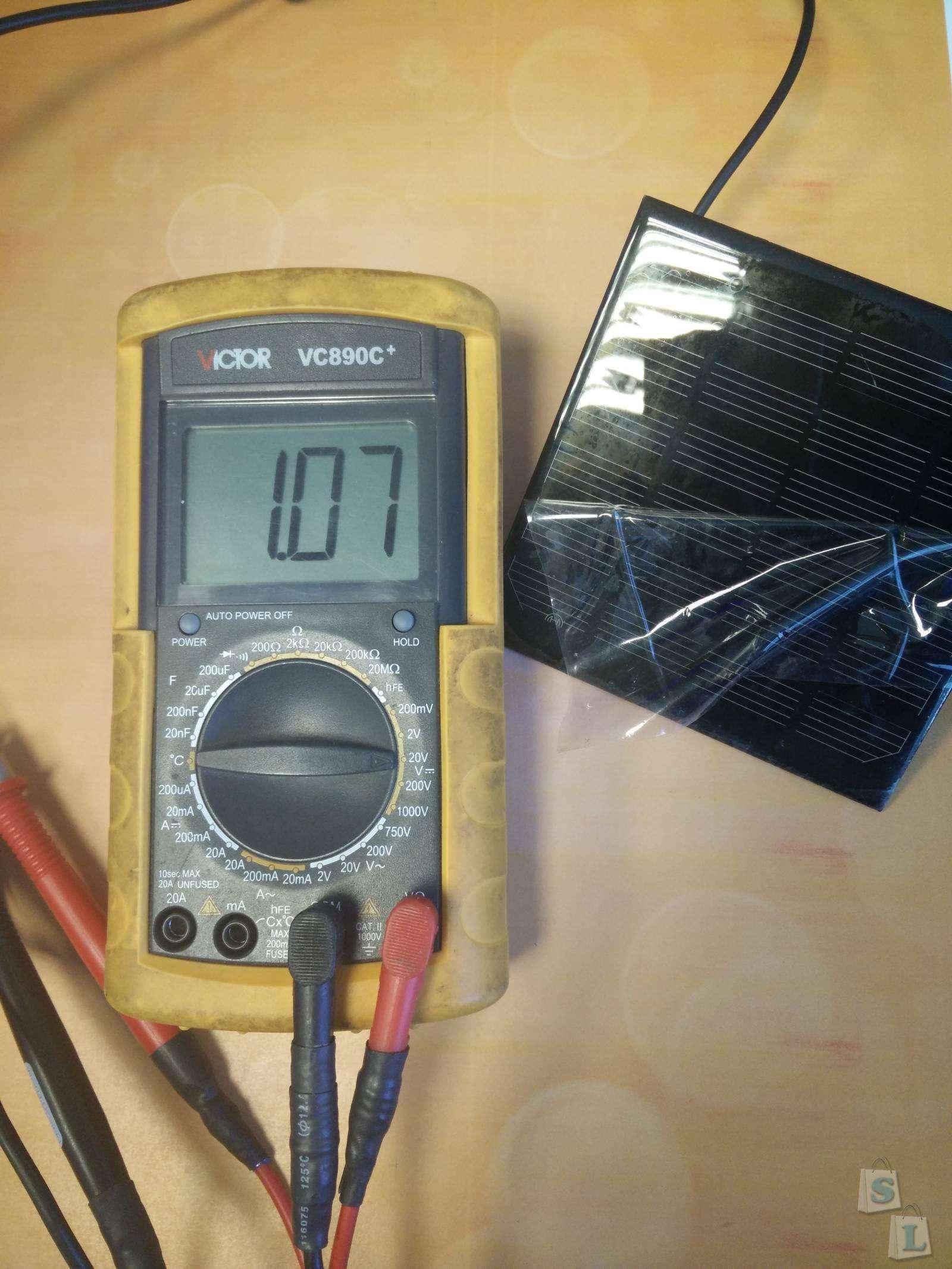 TinyDeal: Фонтанчик работающий от солнечной батарее который достался почти бесплатно