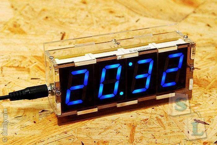 Banggood: Diy Clock-2, спаяй себе скелетоны.