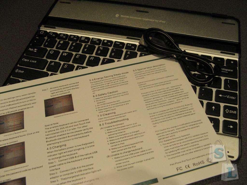 Другие - Китай: UltraBook for iPad 2 / 3 / 4