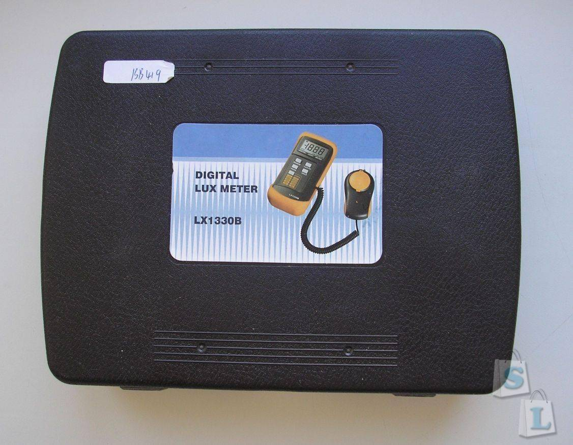 EachBuyer: Digital Luminometer Photometer LX-1330B. Люксметр.