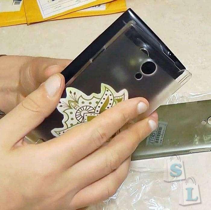 Aliexpress: Защитный бампер для смартфонов THL T6s и THL T6pro, черный и прозрачный.