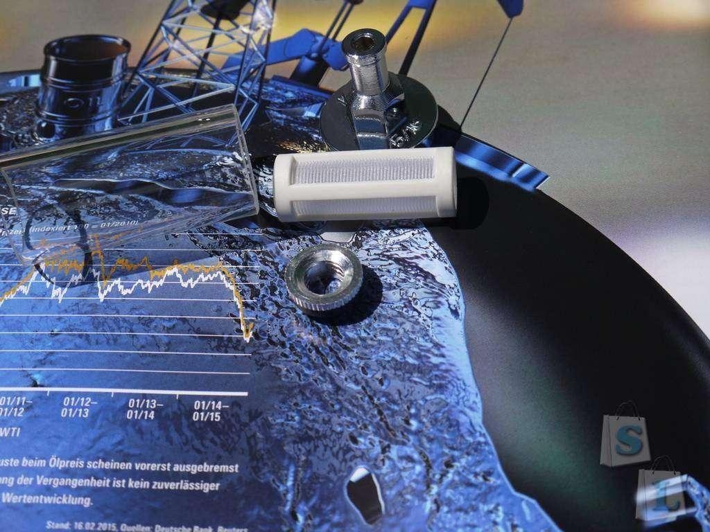 Banggood: Топливный фильтр (металл+стекло)