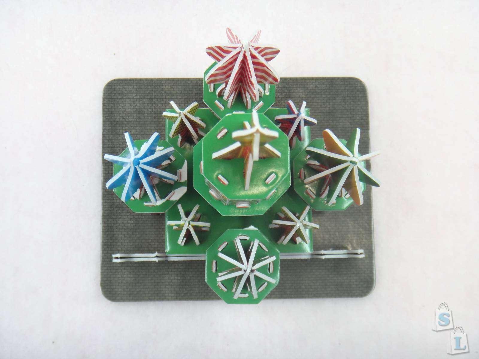 Banggood: 3D конструктор пазл из картона в виде Храма Василия Блаженного