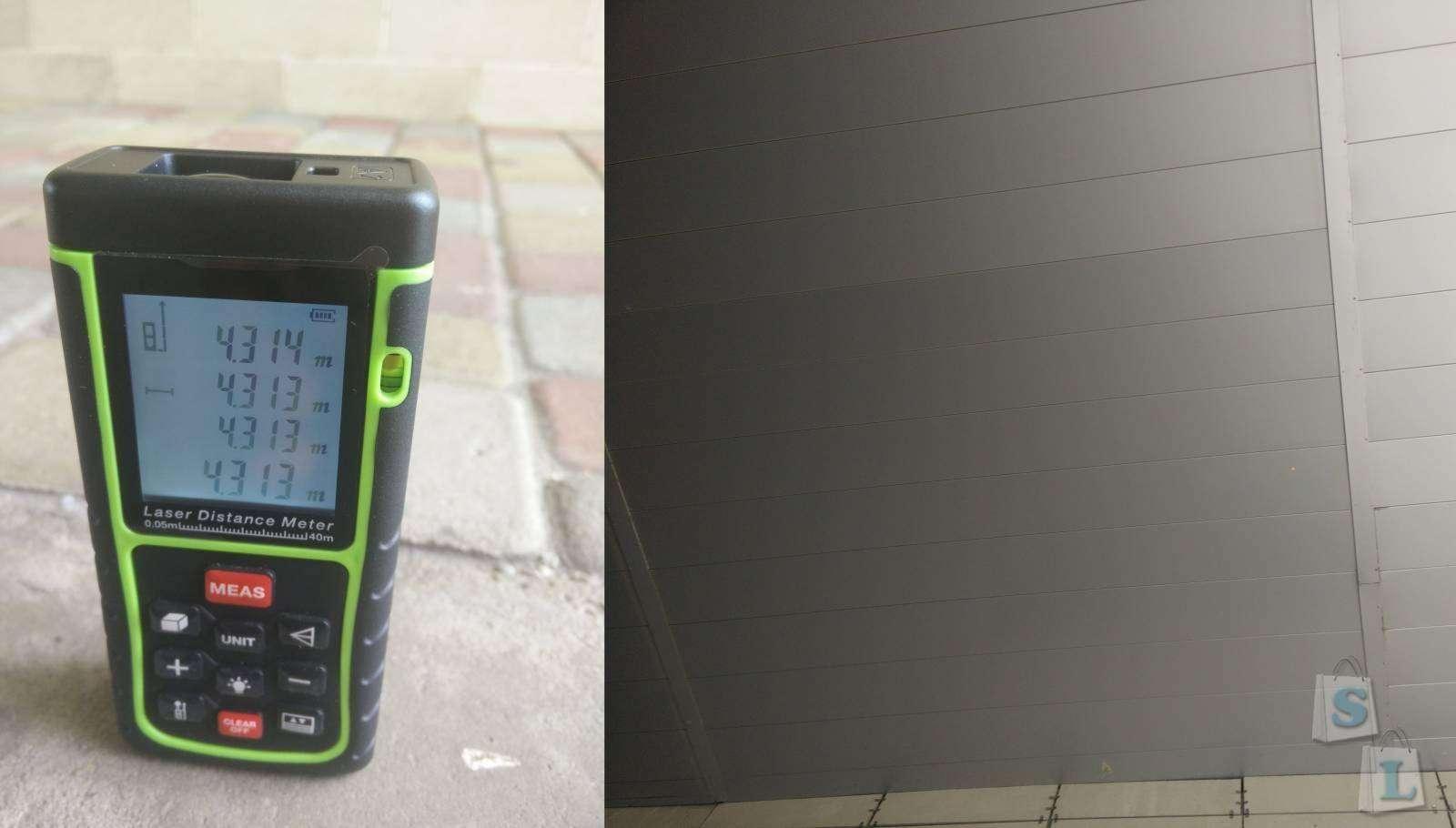 TVC-Mall: Лазерный дальномер SW-E40 обзор и тестирование