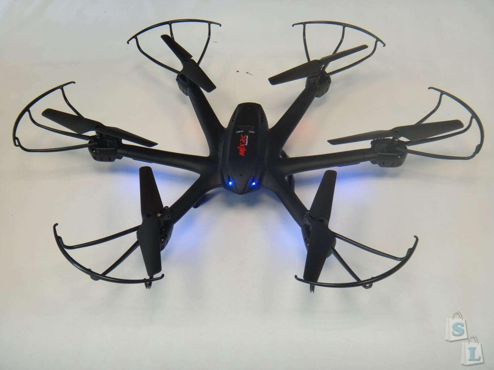 Обзор гексакоптера MJX X600 2.4G 4CH RC Drone Hexacopter 6-axis Gyro