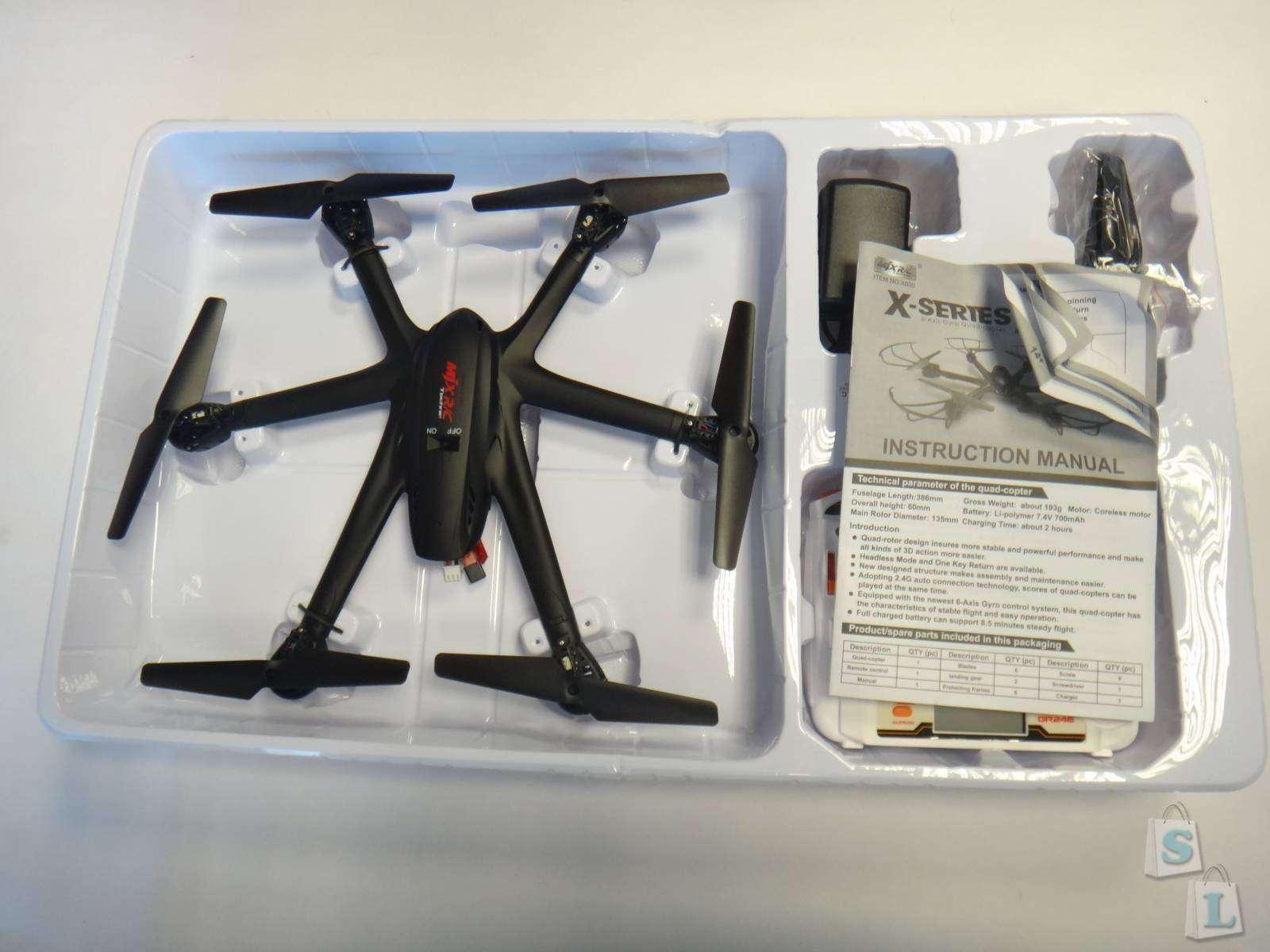 Lightake: Обзор гексакоптера MJX X600 2.4G 4CH RC Drone Hexacopter 6-axis Gyro