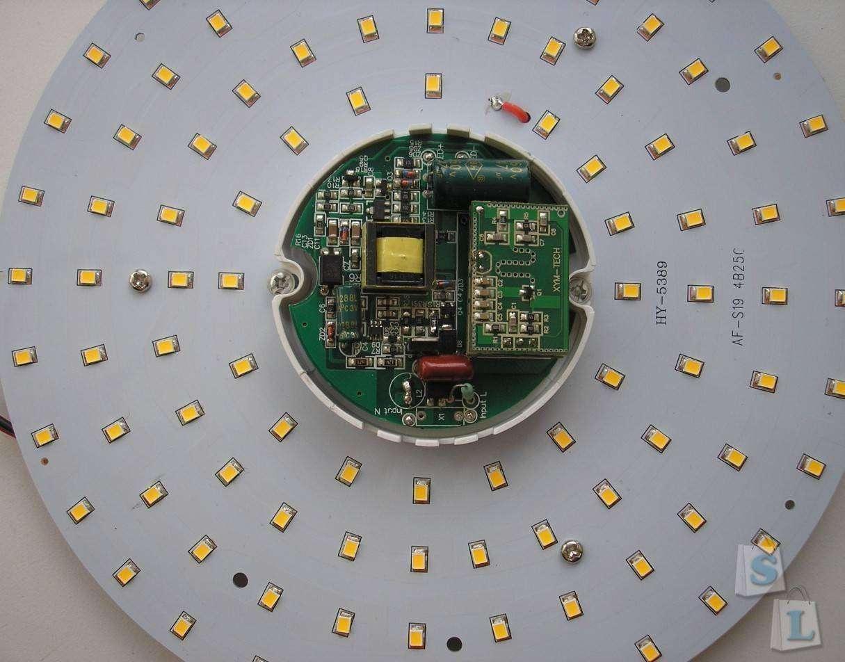 GearBest: Светодиодная панель 19Вт. На этот раз 'индукционная'