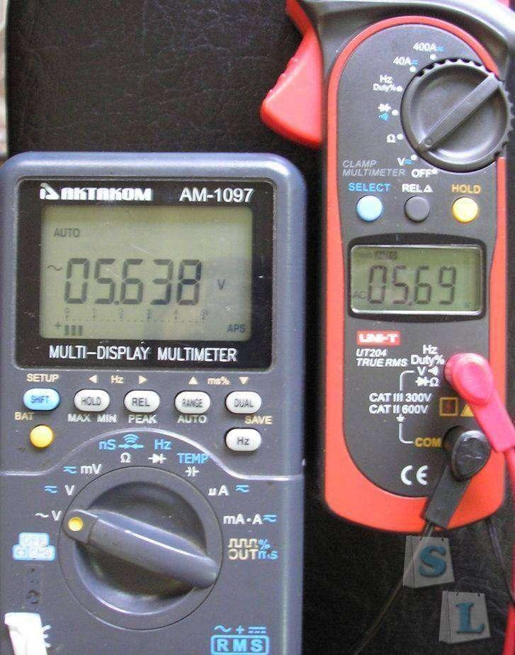 Aliexpress: UT204 Digital  clamp Multimeter True RMS
