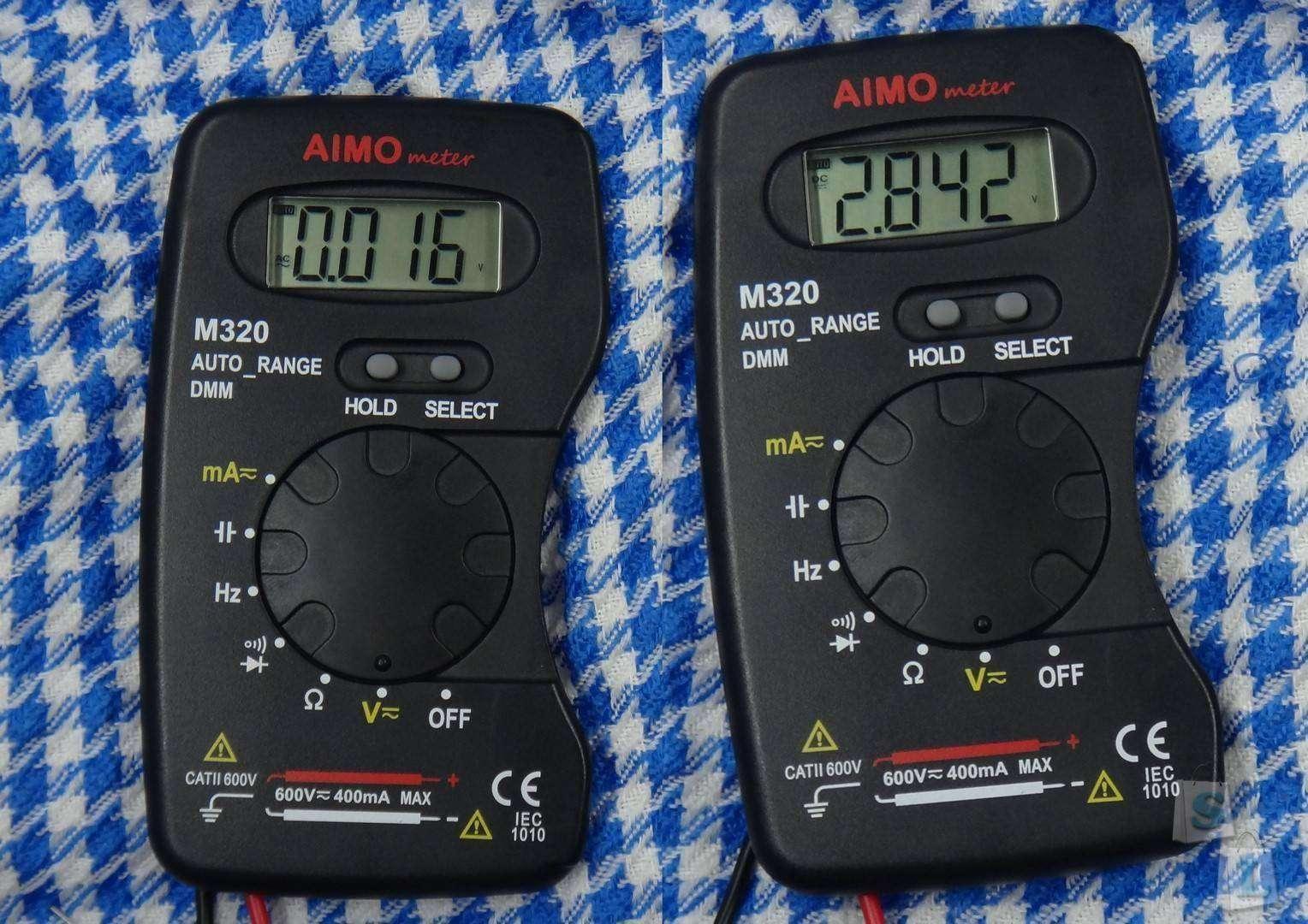 GearBest: Цифровой электронный мультиметр AMIO meter M320 с автоматическим выбором пределов измерений