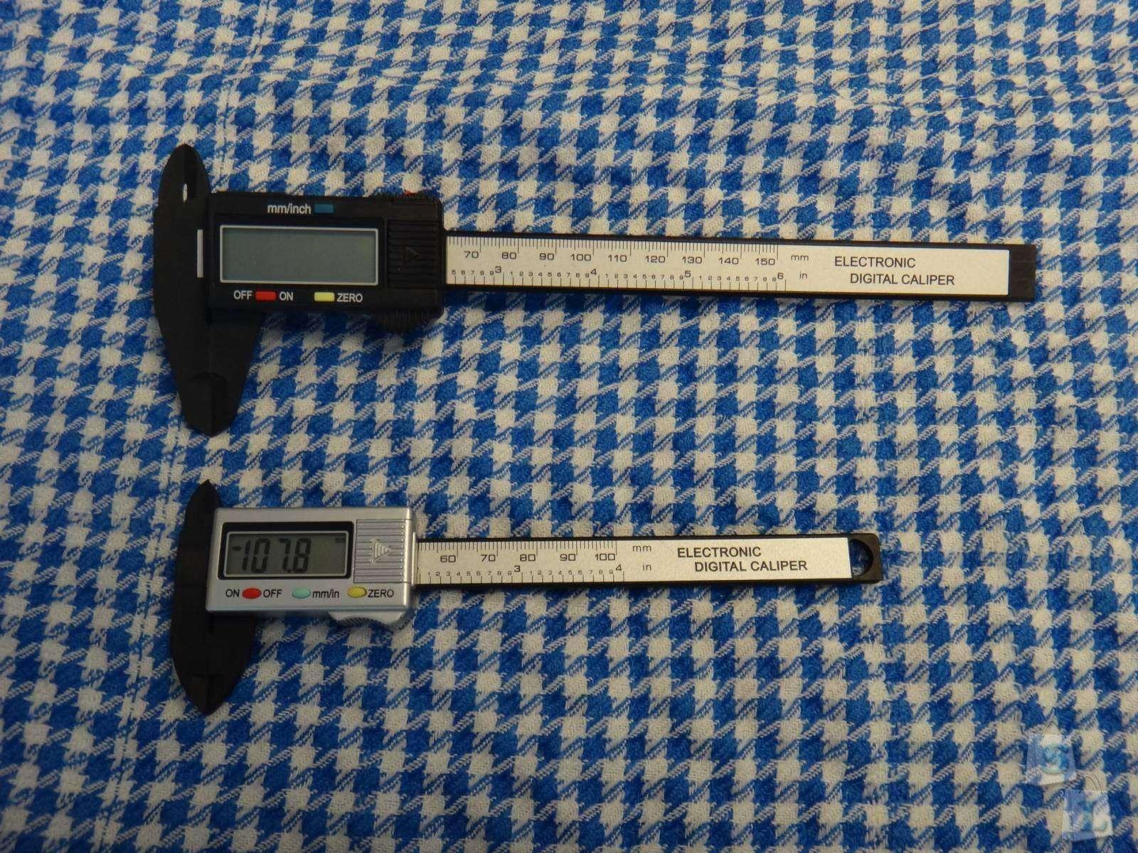 GearBest: Компактный электронный штангенциркуль - 100 mm Digital Vernier Caliper Micrometer