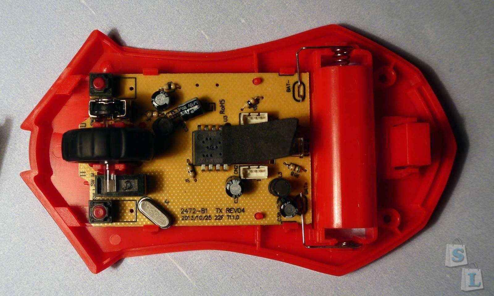 Aliexpress: Беспроводная мышь Easterntimes Tech X-08 2000DPI
