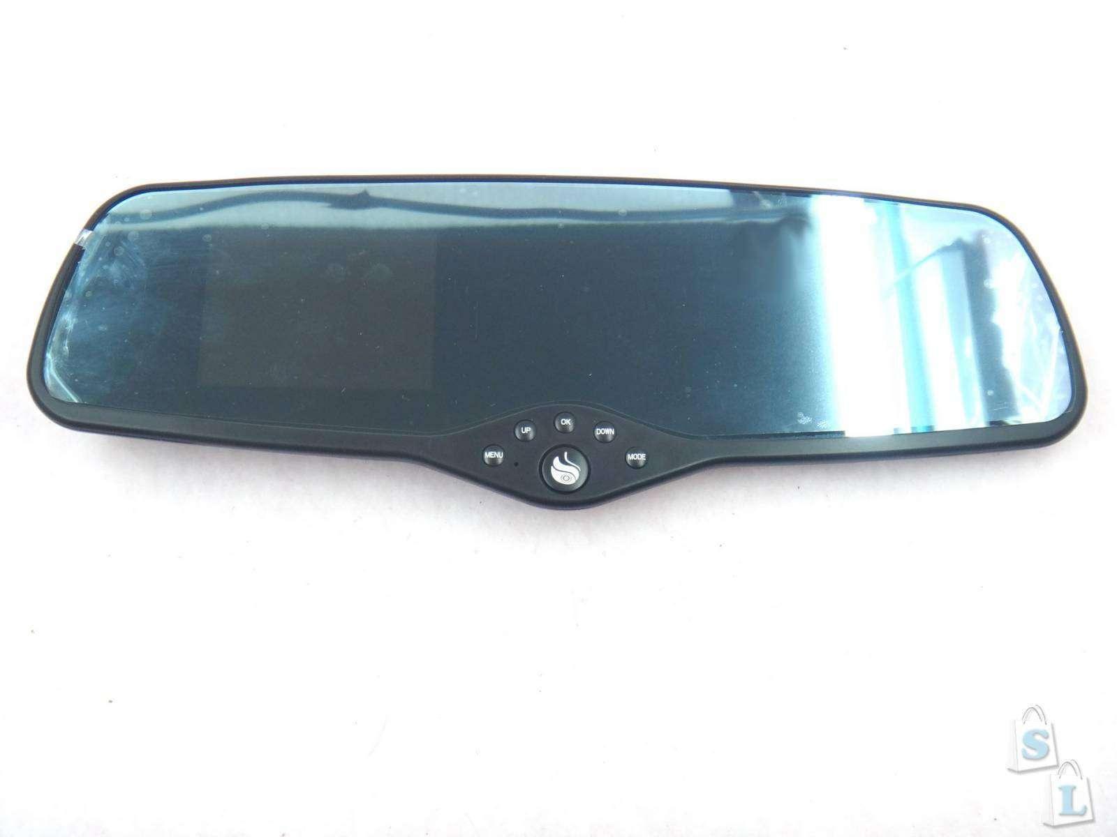 Автомобильное зеркало Shadow GL8000 с 3.0' дисплеем и FullHD регистратором и GPS трекером