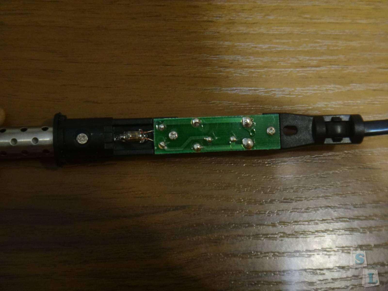 GearBest: Качественный 40W паяльник GADJIE с керамическим нагревательным элементом и индикацией