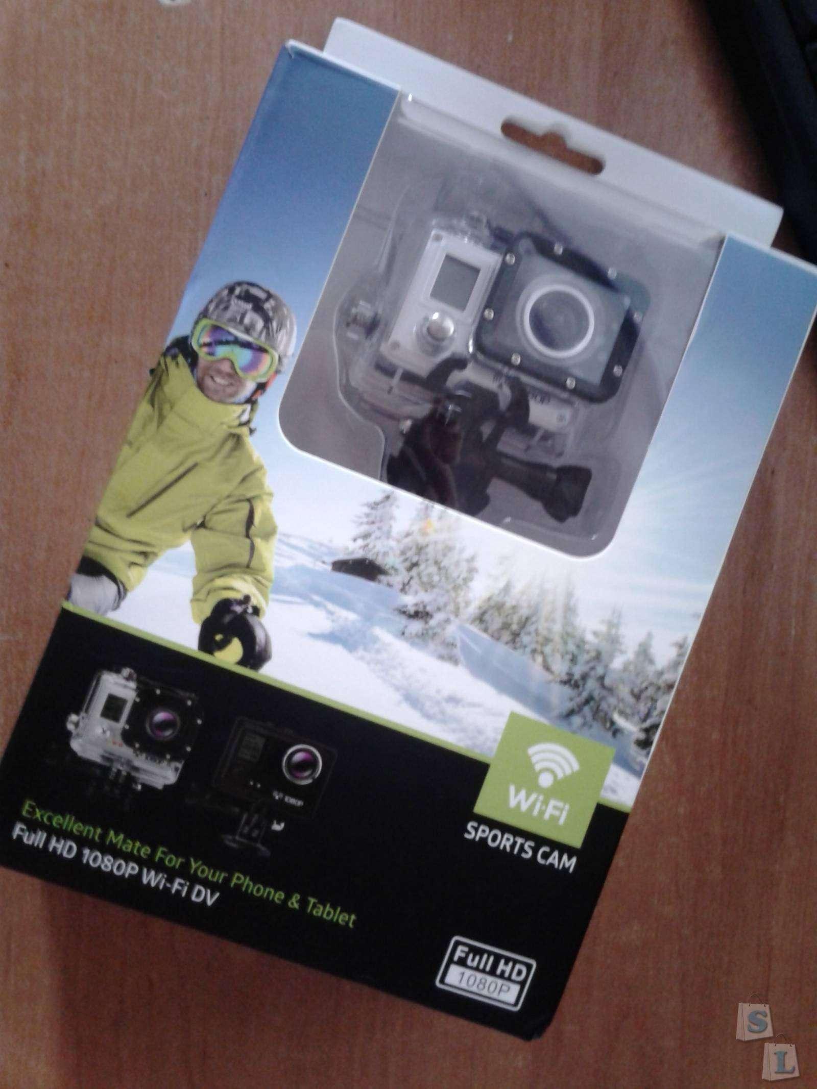 GearBest: Довольно бюджетная экшен-камера Amkov AMK5000S