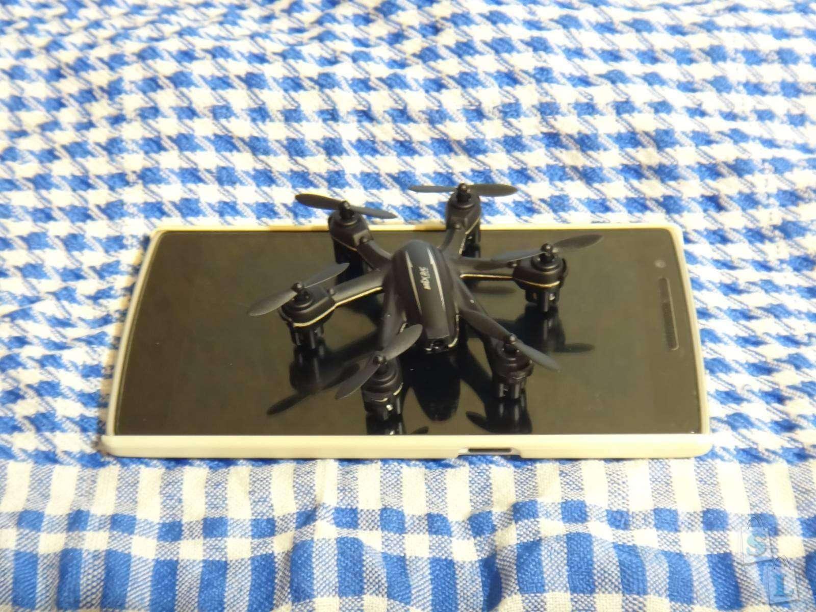 Гексакоптер MJX X900 который способен уместится на экране вашего смартфона