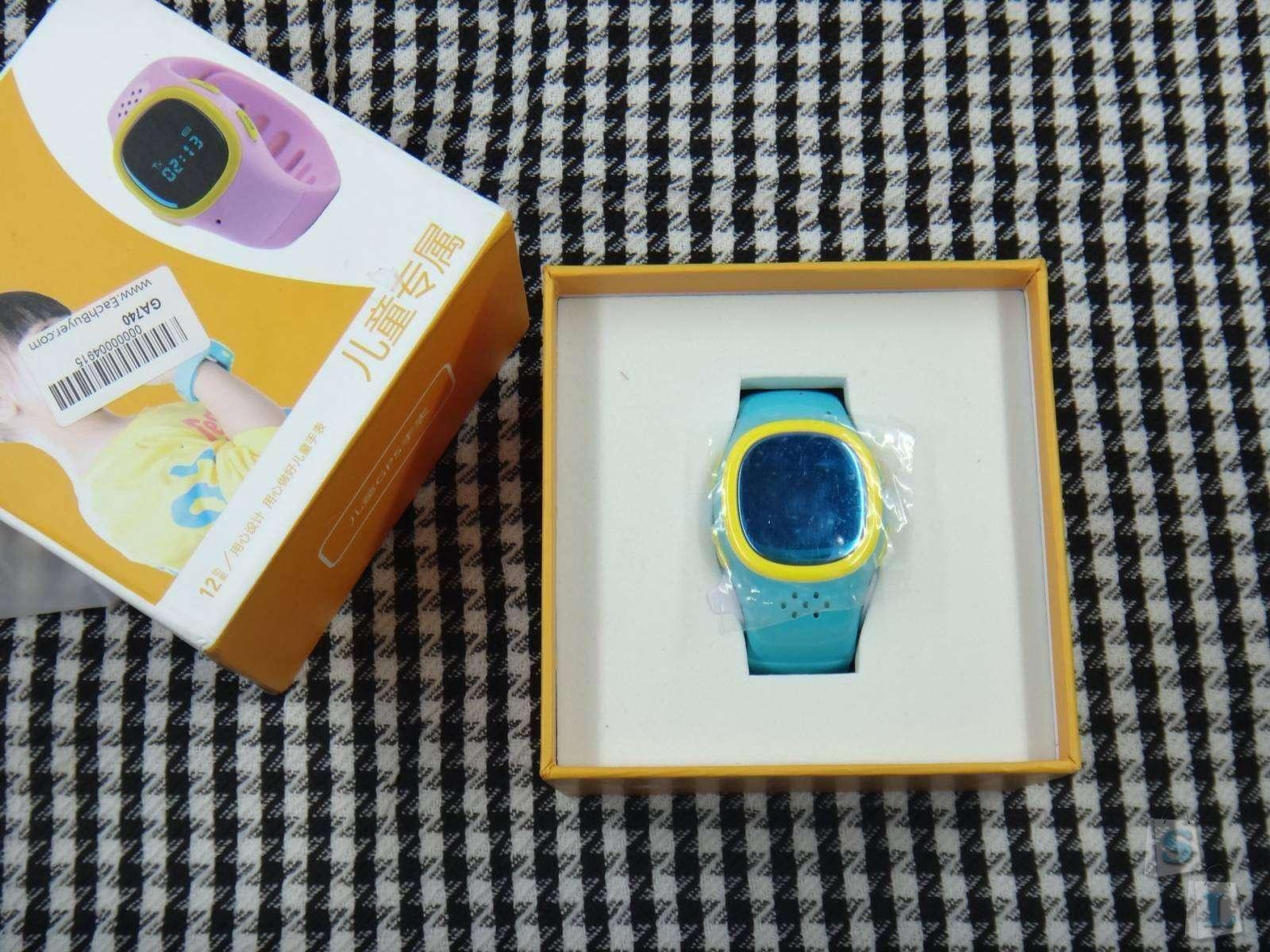 EachBuyer: Детские часы GPS трекер Cityeasy 520 с функцией телефона