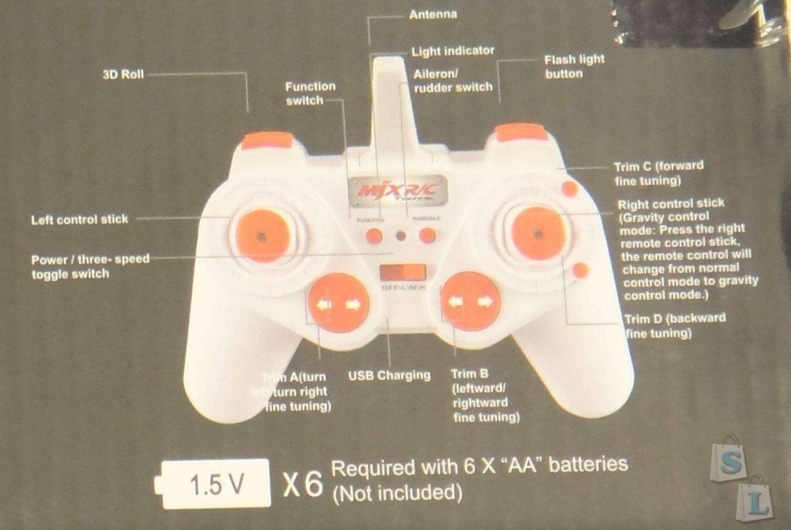 Lightake: Гексакоптер MJX X900 который способен уместится на экране вашего смартфона