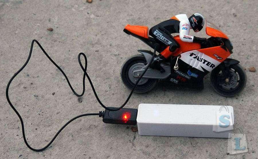 TinyDeal: Мотоцикл на радиоуправлении JXD-806 (1:16)