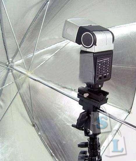 DealExtreme: Как закрепить вспышку и зонт на фотостойке