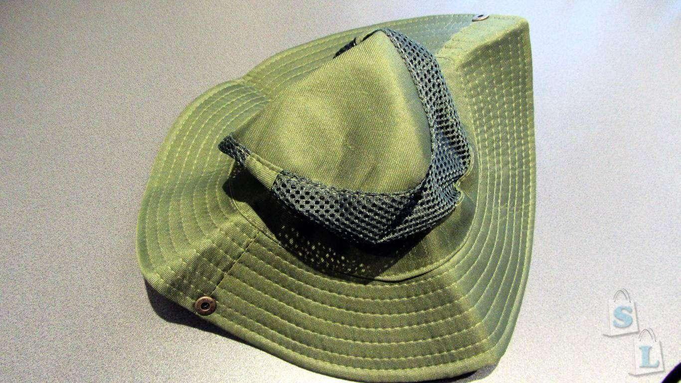 ChinaBuye: Футболка с ярким принтом и шляпа с сеткой