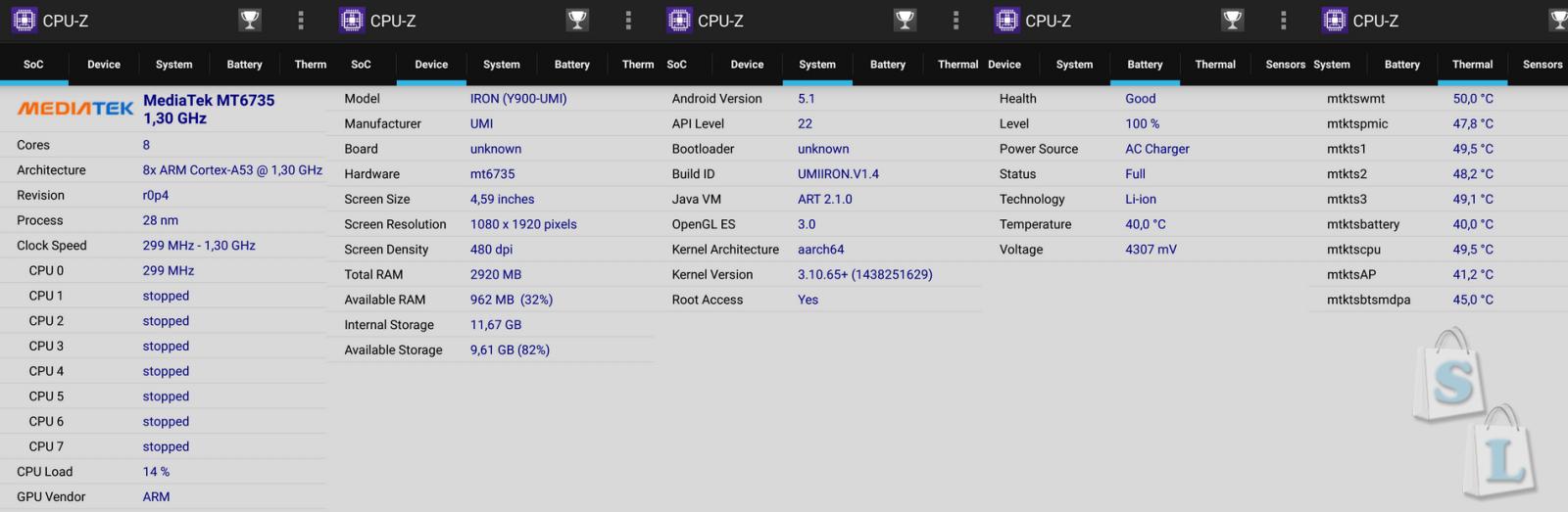 CooliCool: Полный обзор UMI IRON MTK6753 1.3GHz Octa Core 5.5 Inch