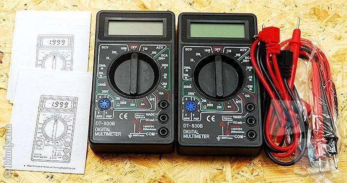 Aliexpress: Мультиметр DT830-B с али, куда уж дешевле?