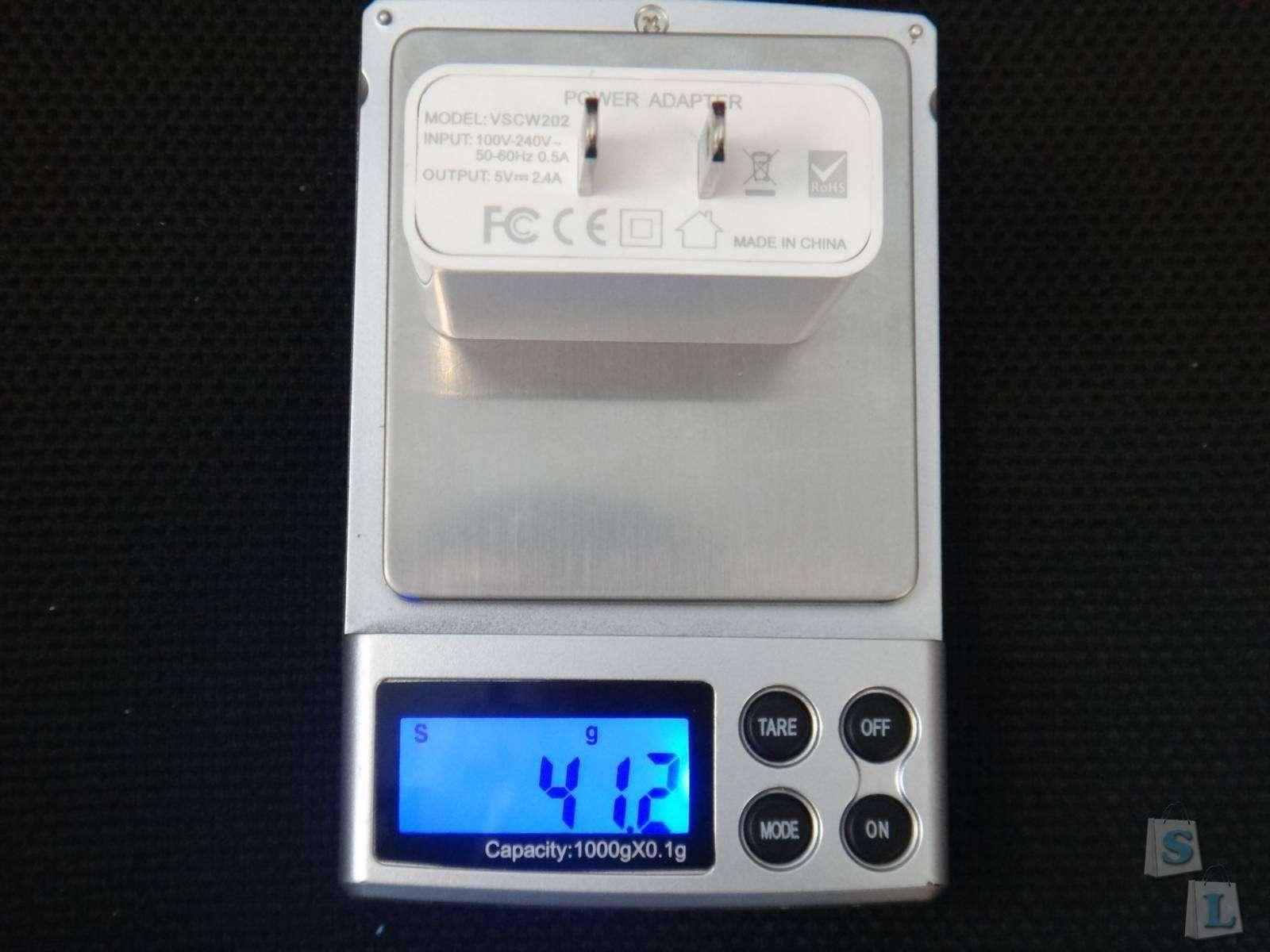 Aliexpress: Обзор сетевого зарядного устройства с честными 2А от Vinsic 12W