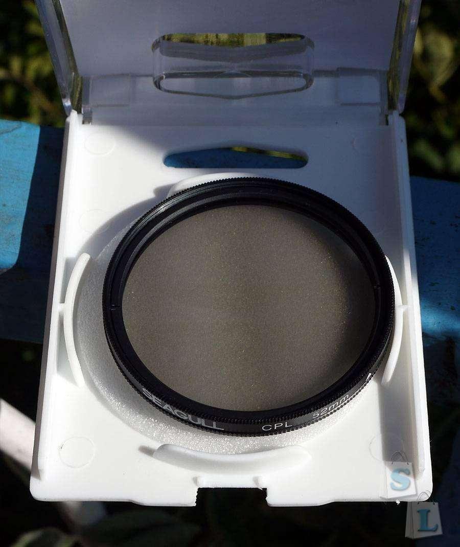 ChinaBuye: Поляризационный фильтр Seagull 52мм