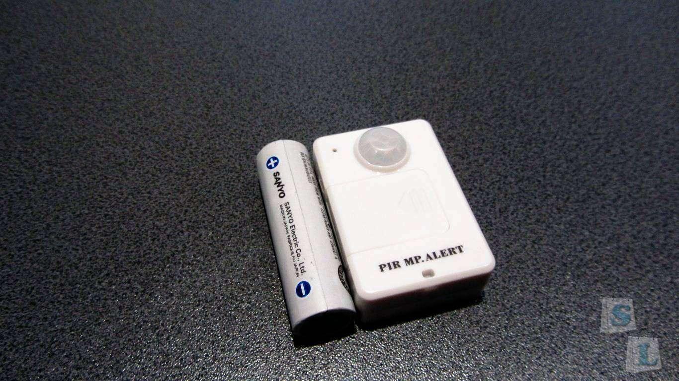 ChinaBuye: Датчик движения с GSM модулем