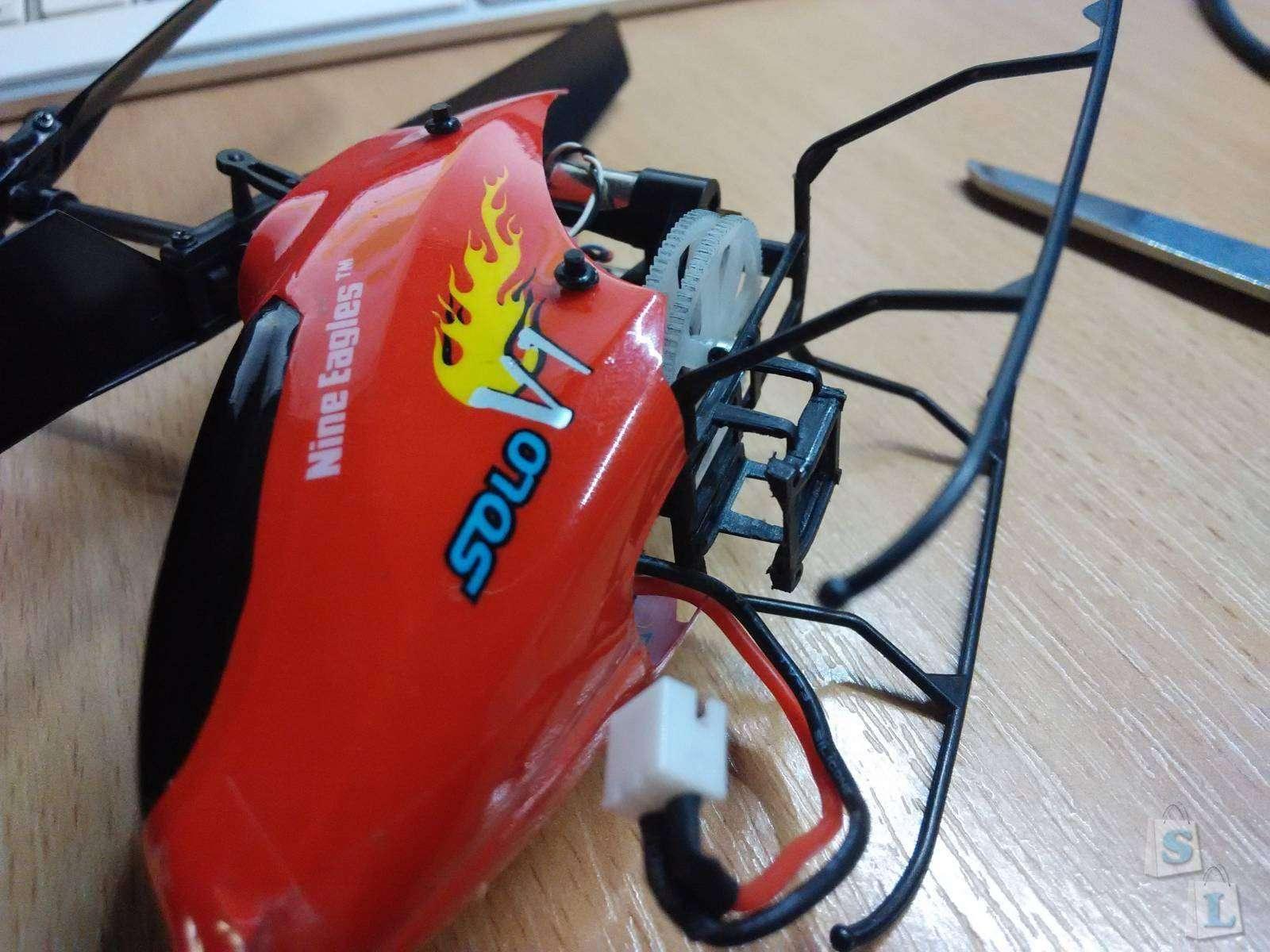 Aliexpress: Аккумулятор 3.7 В 200 мА/ч с зарядным устройством для вертолета Wltoys V911 но куплен не для него :) История покупки и использования.
