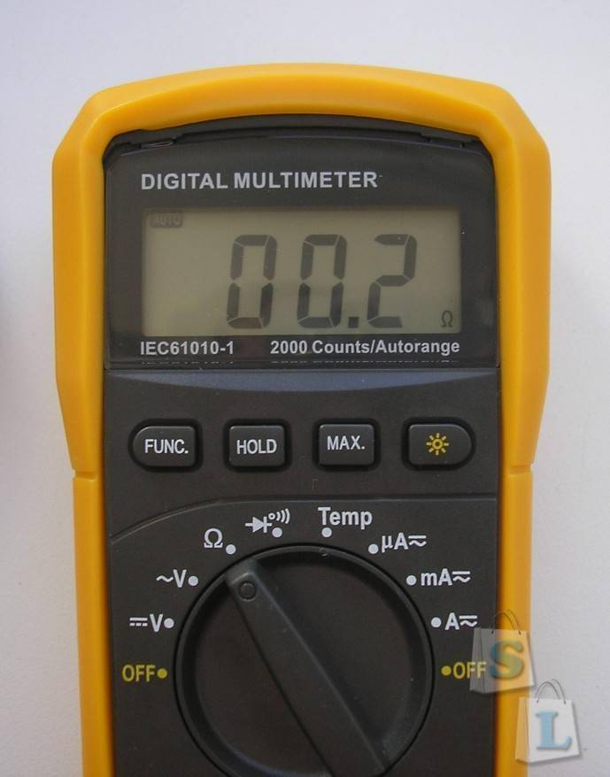 GearBest: Мультиметр HYELEC MS8233E (Multifunctional Digital Multimeter)