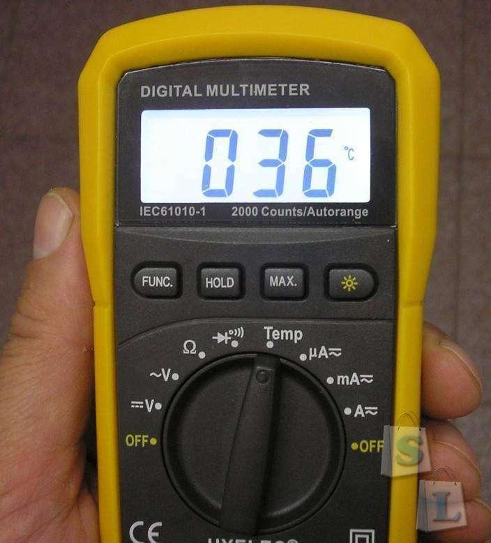 GearBest: Мультиметр HYELEC MS8233E (Multifunctional Digital Multimeter)