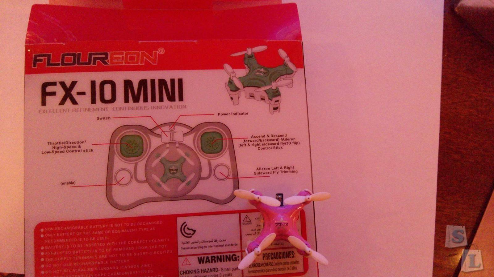 GearBest: Обзор приза из конкурса от Gearbest - Floureon FX-10 Mini!
