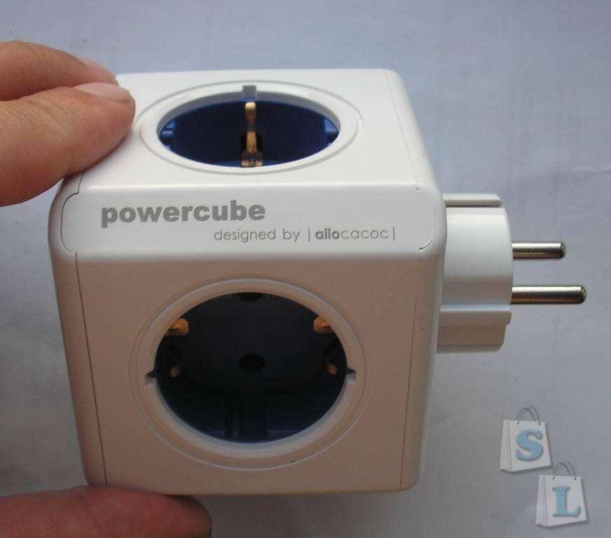 GearBest: Кубик-адаптер на 16А от Allocacoc