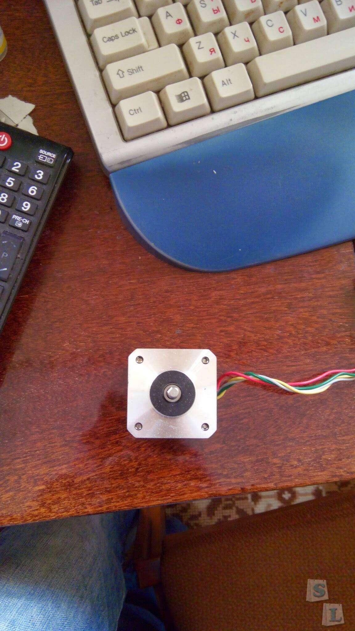 GearBest: 3D-принтер из дешевых запчастей. Часть 2: В поисках Nema