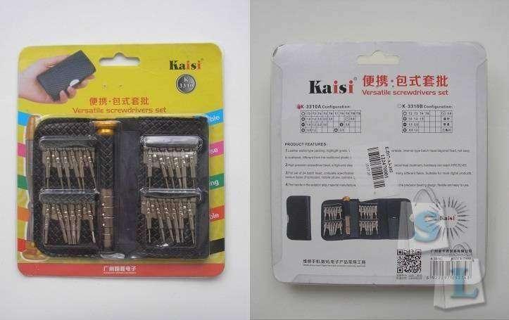GearBest: Набор отвёрток Kaisi K3310A 25 в 1
