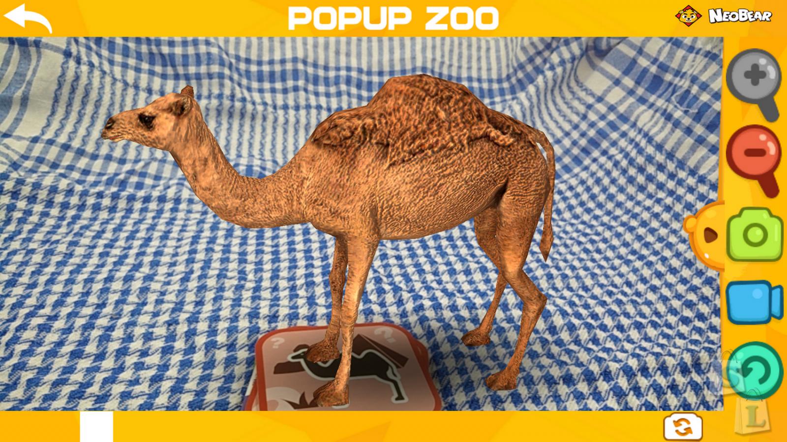 3D зоопарк NEOBEAR карточки с животными изучаем английский язык с детьми