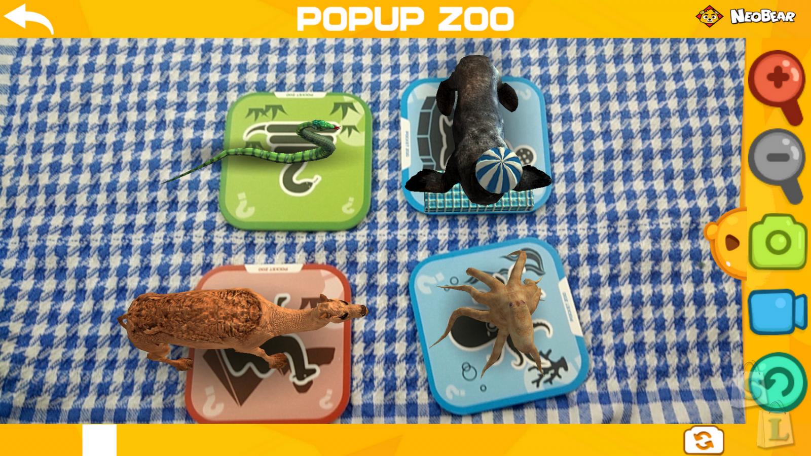 GearBest: 3D зоопарк NEOBEAR карточки с животными изучаем английский язык с детьми